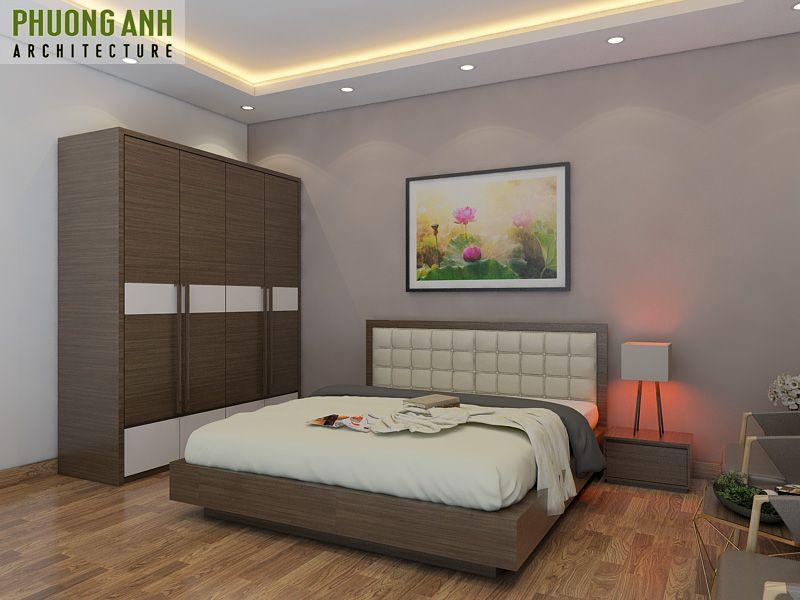 Mẫu thiết kế nội thất phòng ngủ đẹp tại Hải Phòng