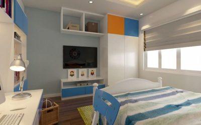 Mẫu thiết kế nội thất phòng ngủ trẻ em đẹp