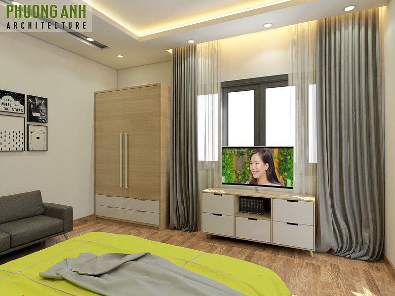 Mẫu thiết kế phòng ngủ diện tích nhỏ 10m2