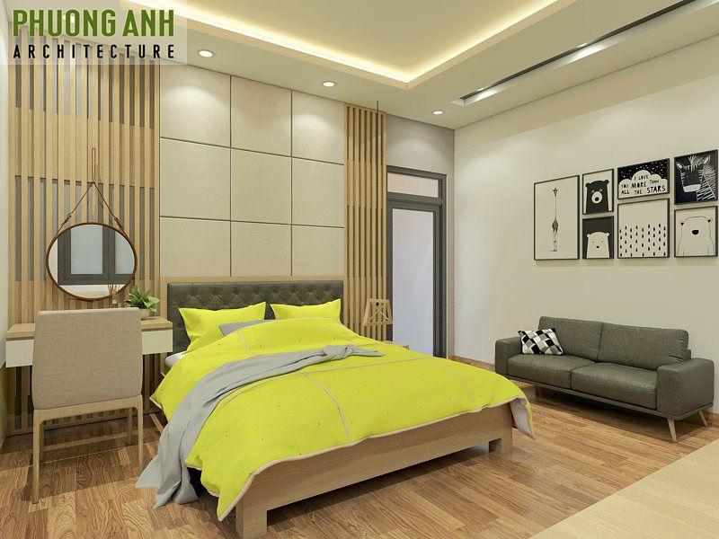Mẫu thiết kế phòng ngủ gia chủ đẹp sang trọng