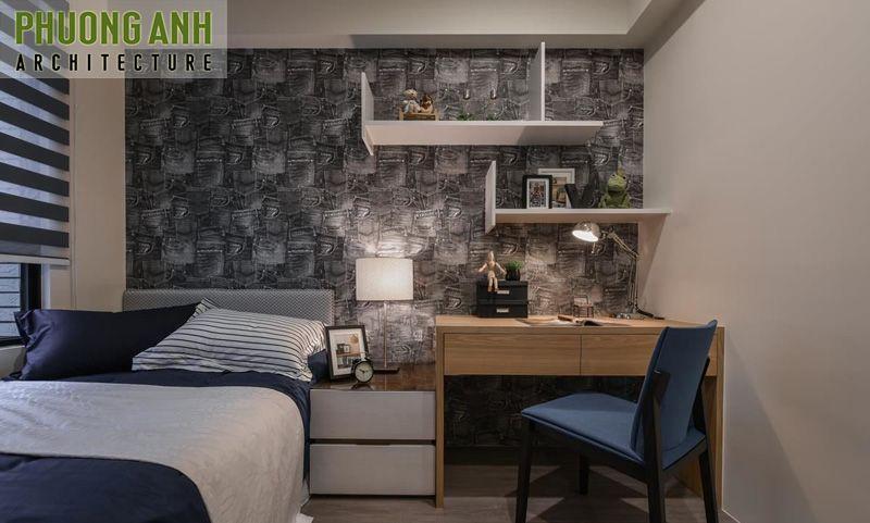 Mẫu thiết kế phòng ngủ hiện đại cá tính