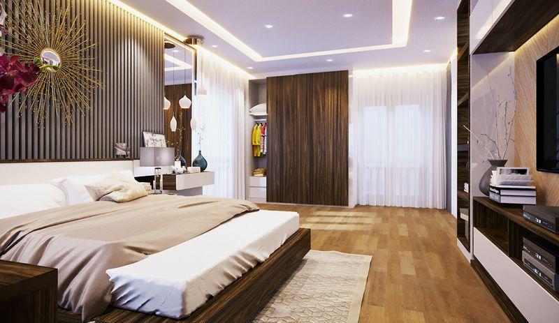 mau thiet ke phong ngu hien dai sang trong duoc yeu thich - 18 Mẫu thiết kế nội thất phòng ngủ đẹp hiện đại 2020