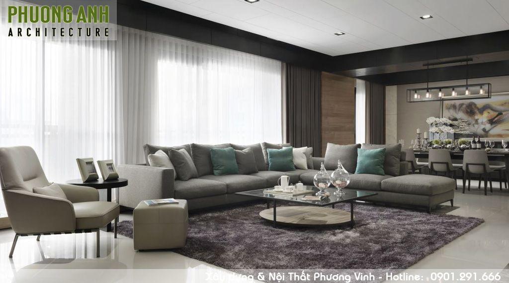 thiet ke noi that chung cu hien dai Mipec Riverside 1 - Thiết kế nội thất chung cư hiện đại Mipec Riverside
