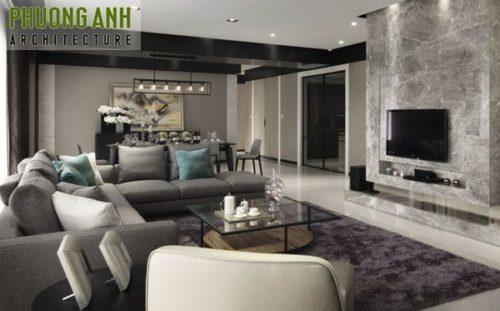 Thiết kế nội thất chung cư hiện đại Mipec Riverside