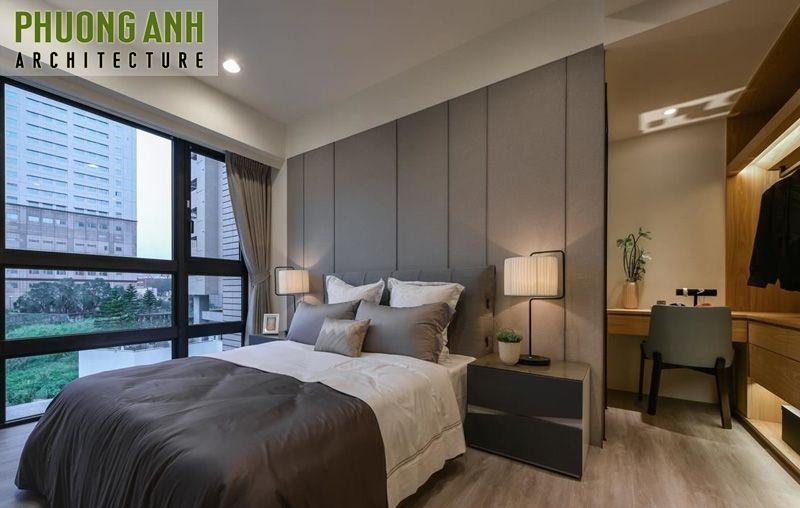 thiet ke noi that phong ngu chung cu Vinhomes Metropolis - 18 Mẫu thiết kế nội thất phòng ngủ đẹp hiện đại 2020