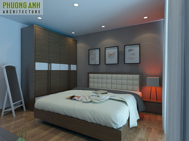 thiet ke noi that phong ngu nho hep - 18 Mẫu thiết kế nội thất phòng ngủ đẹp hiện đại 2020