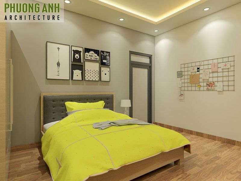 Thiết kế phòng ngủ nhỏ đẹp đơn giản