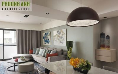 Thiết kế thi công nội thất chung cư Sky Garden