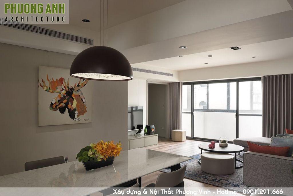 thiet ke thi cong noi that phong an don gian - Thiết kế nội thất chung cư Sky Garden | Cải tạo chung cư