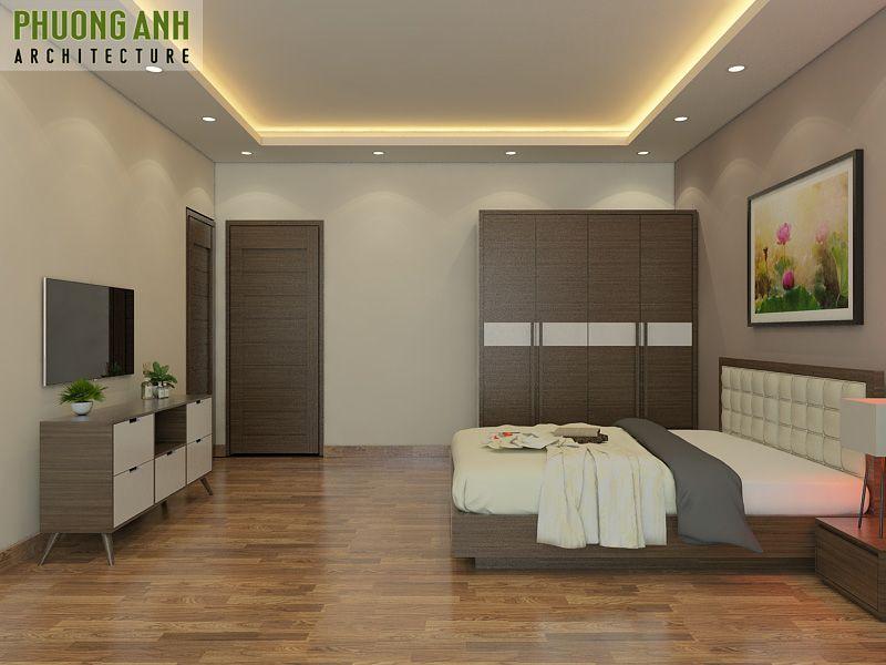 thiet ke thi cong noi that phong ngu nho hẹp don gian va dep - 18 Mẫu thiết kế nội thất phòng ngủ đẹp hiện đại 2020