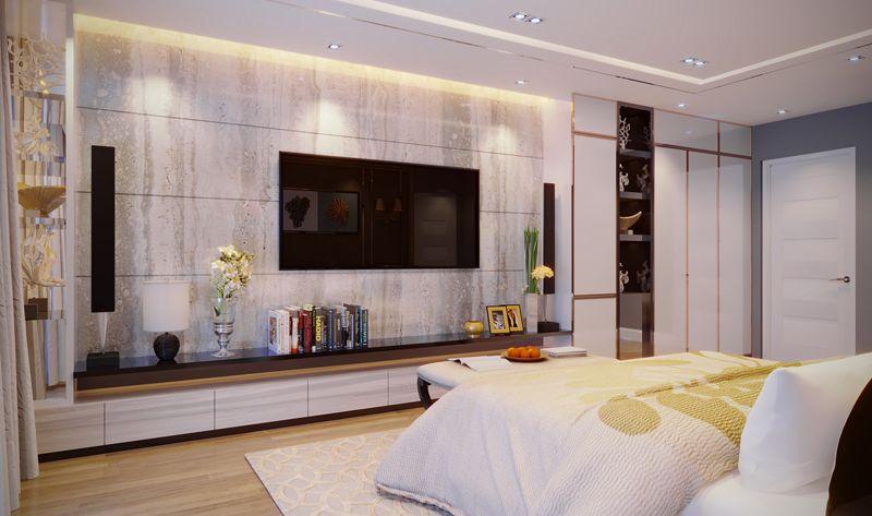 top 3 mau phong ngu dep hien dai - 18 Mẫu thiết kế nội thất phòng ngủ đẹp hiện đại 2020
